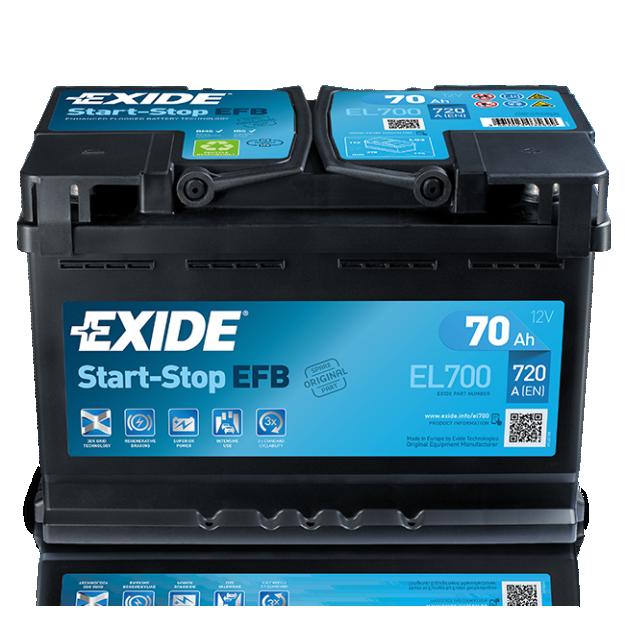 Exide Start Stop EFB