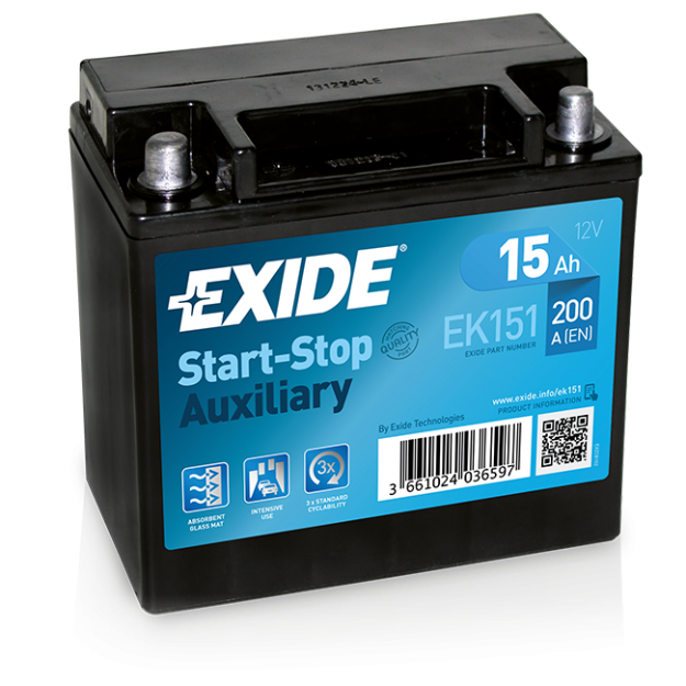 Exide Start Stop Auxiliary