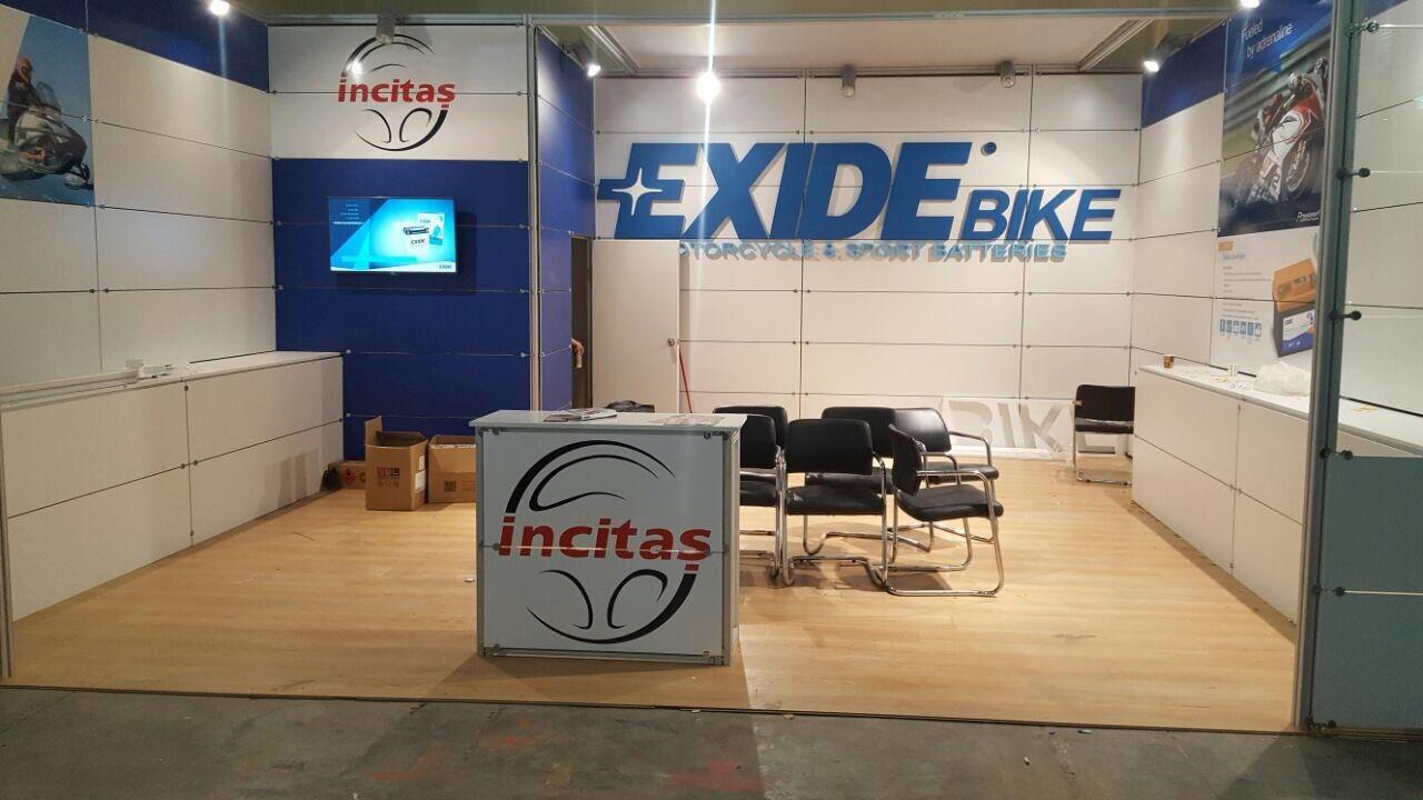Exide, 2017 Eurasia MotoBike 'da