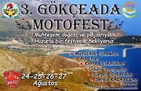 Exide Gökçeada Motofestde