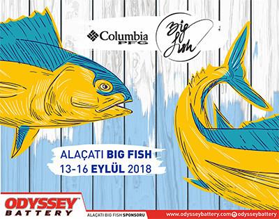 ODYSSEY Akü ile Alaçatı Big Fish 2018 sponsorları arasında